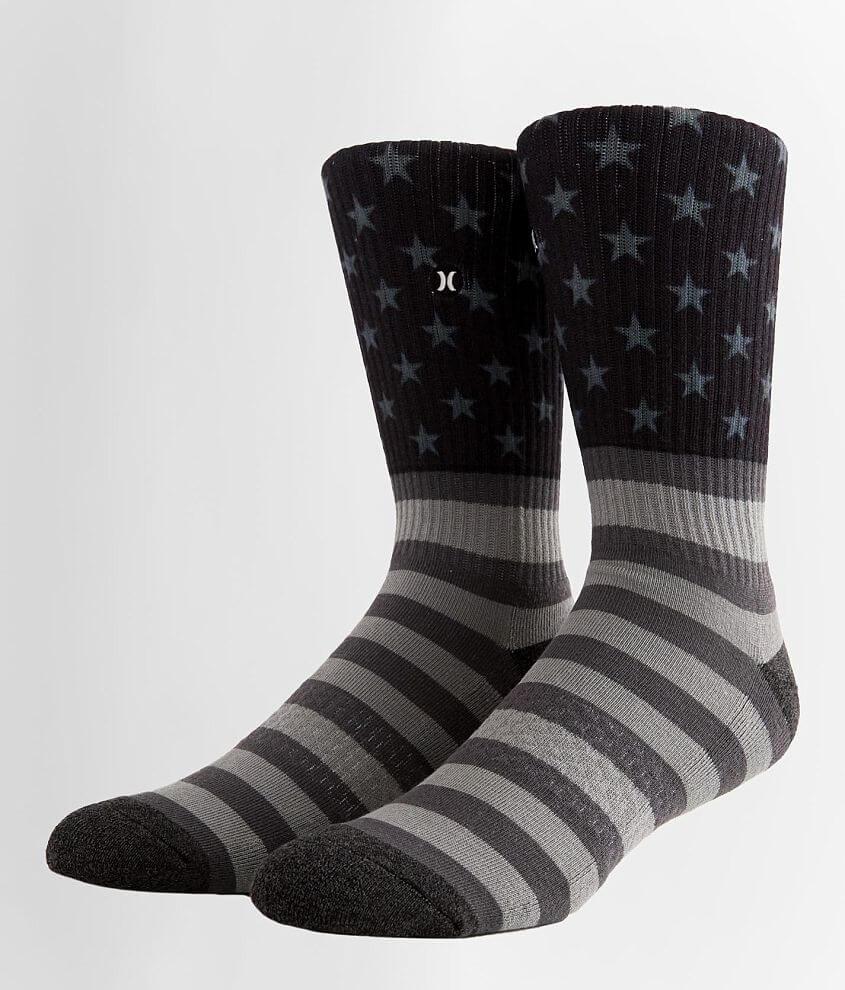Hurley Stars & Stripes Socks front view