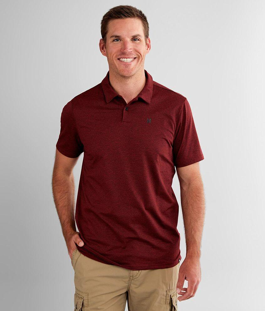 Hurley Tandem Performance Polo front view