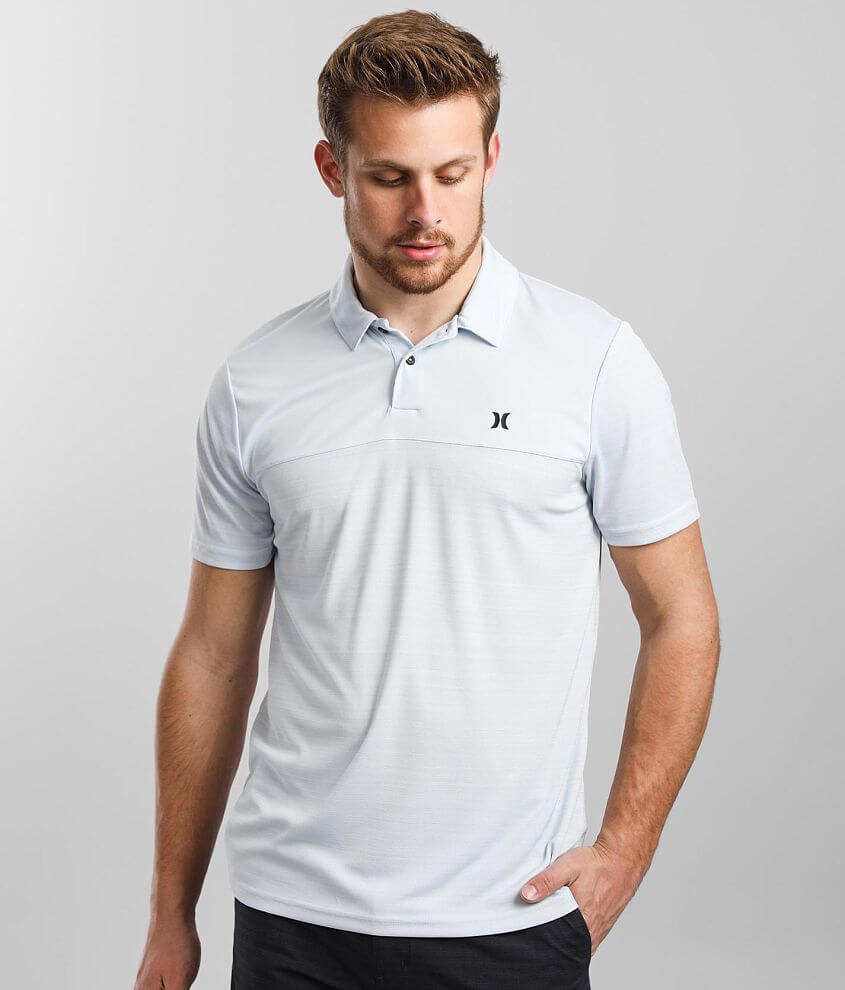 Hurley Ridge Performance Polo front view