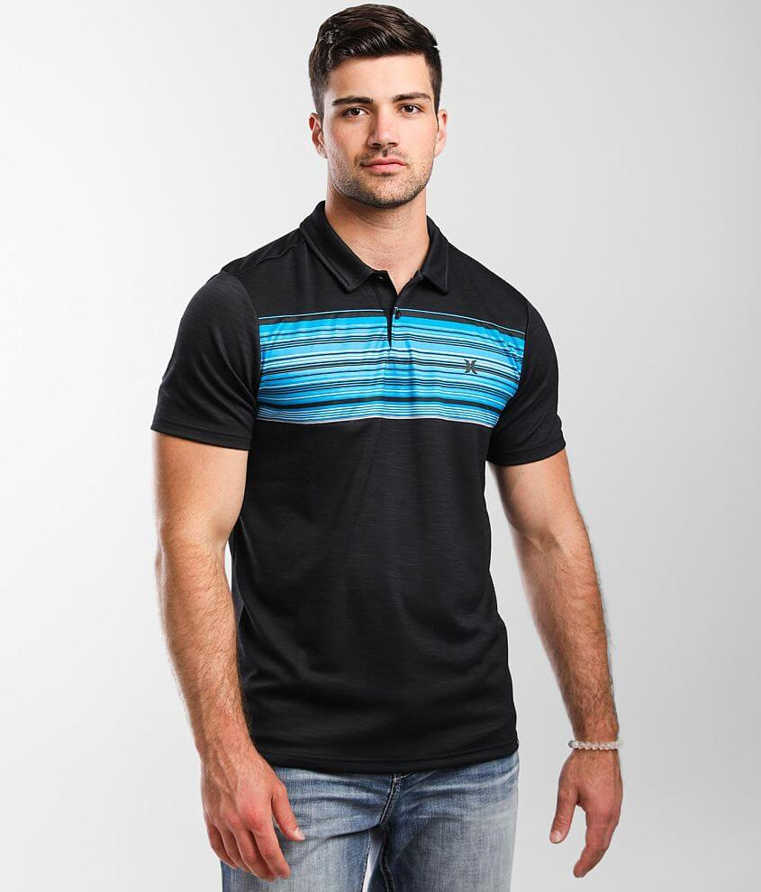 Hurley Dutra Performance Polo front view