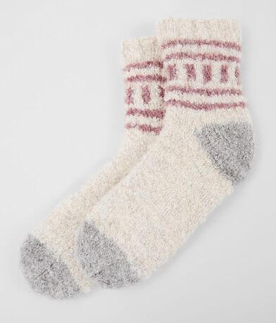 Lemon Lofty Bouclé Ski Socks