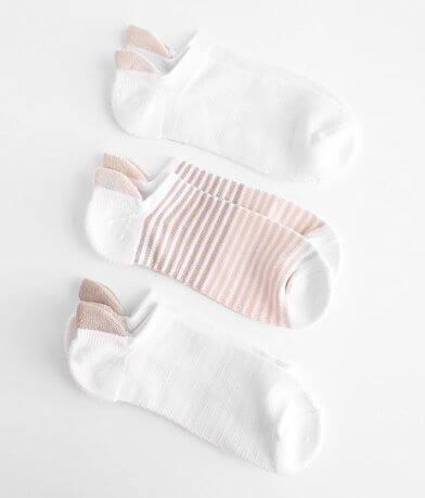 Lemon 3 Pack Powder Soft Socks