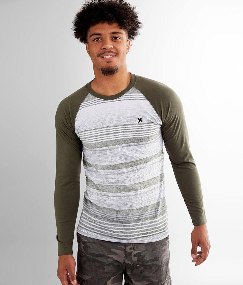 Hurley Splintered Raglan T-Shirt front view