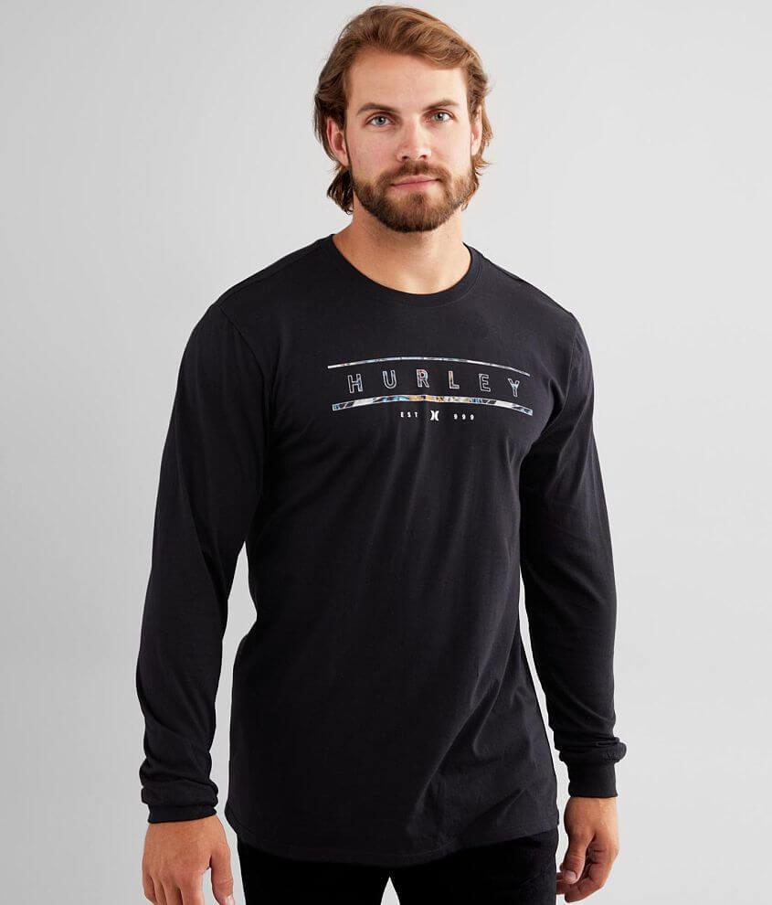 Hurley Bars T-Shirt front view