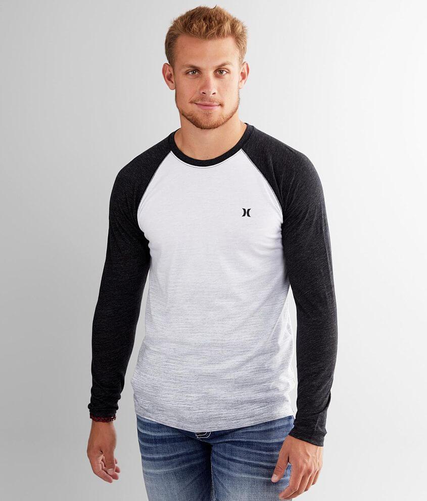 Hurley Skyline Raglan T-Shirt front view