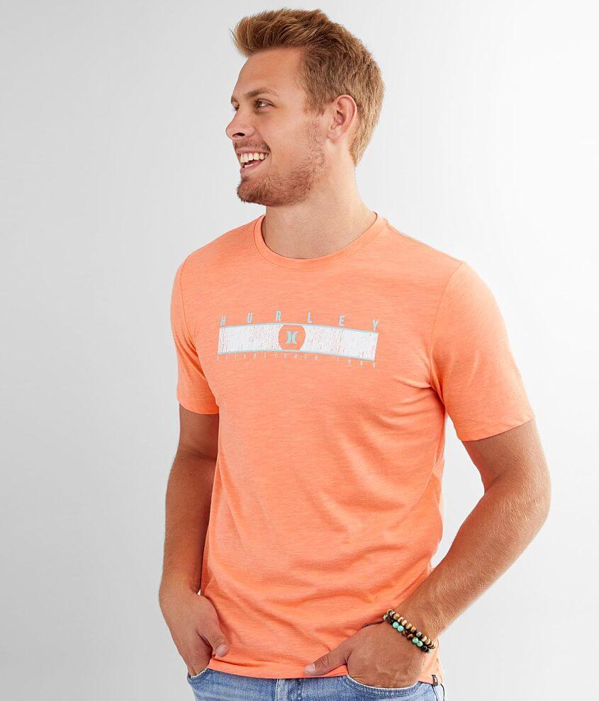 Hurley Gradient Stripe Dri-FIT T-Shirt front view