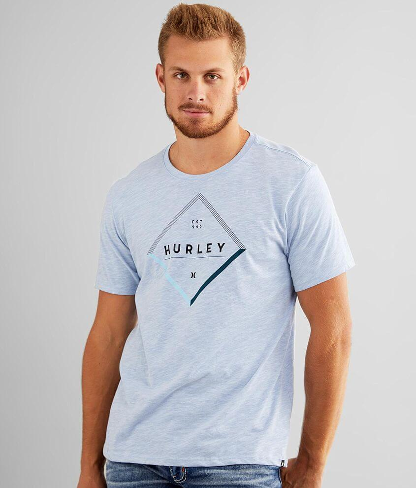 Hurley Slub Diamond Dri-FIT T-Shirt front view