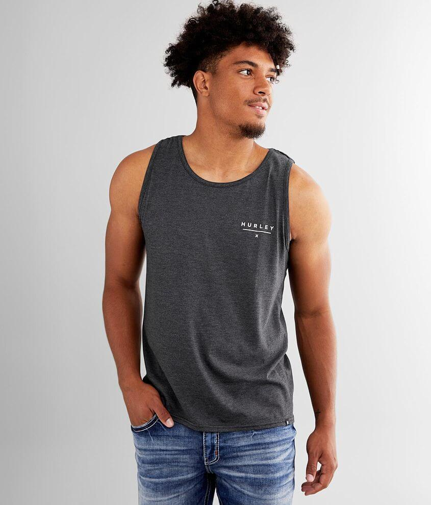 Hurley Fold 'Em Tank Top front view