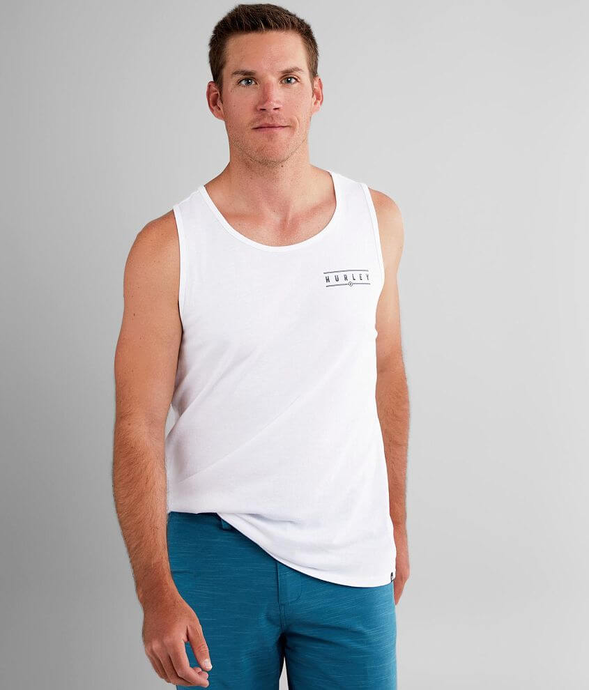 Hurley Sundial Tank Top front view