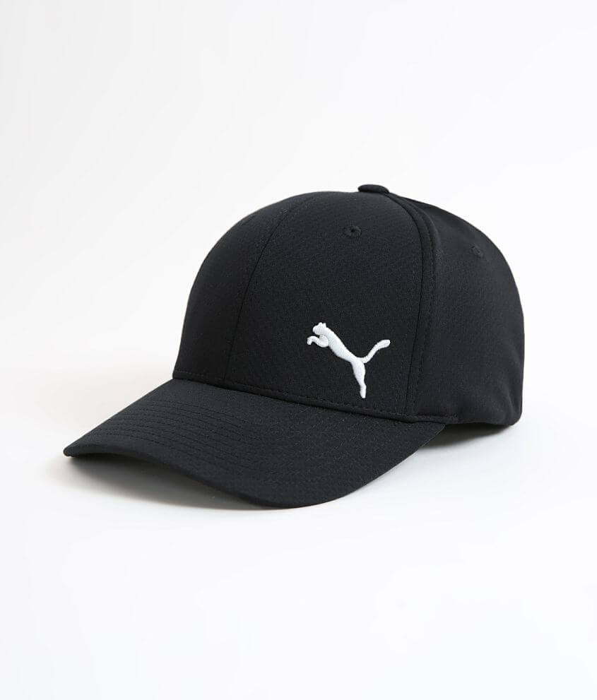 Puma Mainline Charlie Stretch Hat - Men s Hats in Charcoal  4df6384c9c5