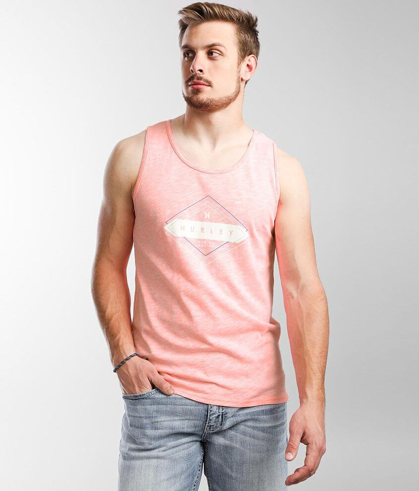 Hurley Intersection Tank Top front view