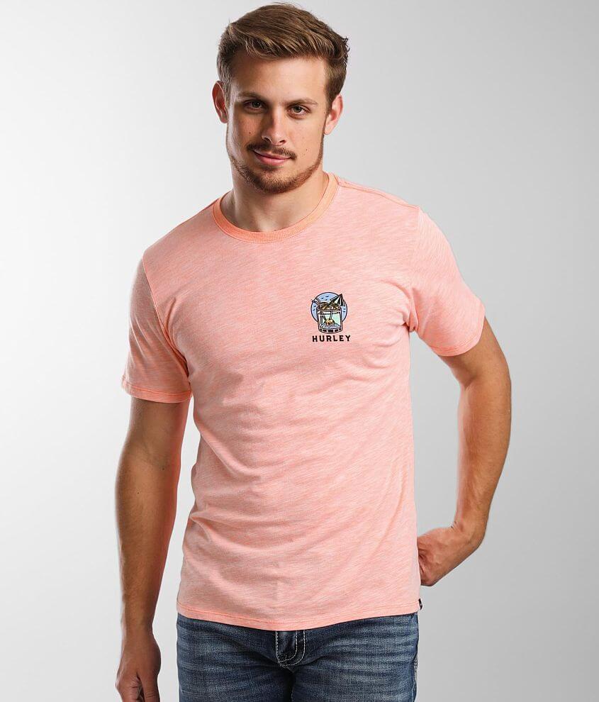 Hurley Slub Island T-Shirt front view