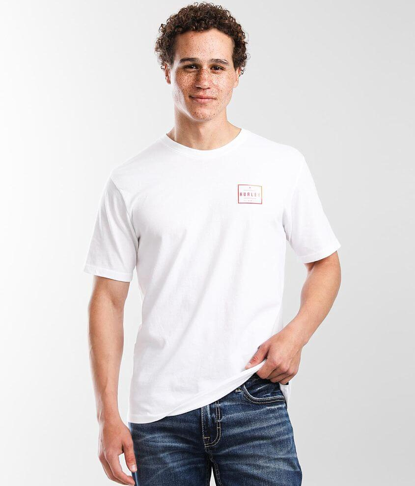 Hurley Squared Up T-Shirt front view