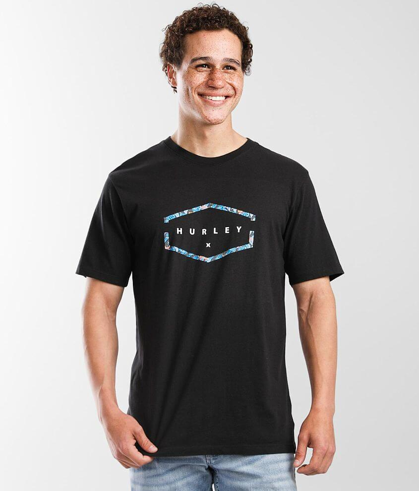 Hurley Sector Floral T-Shirt front view
