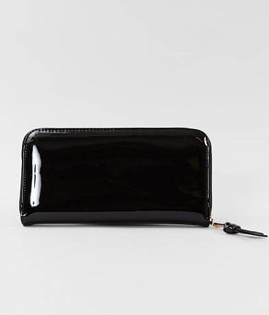 Urban Expressions Patent Faux Leather Wallet
