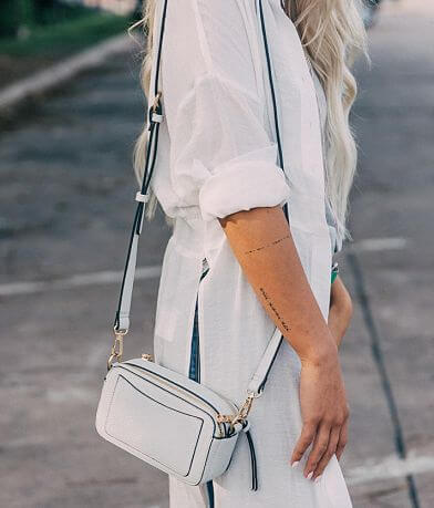 Urban Expressions Structured Crossbody Purse