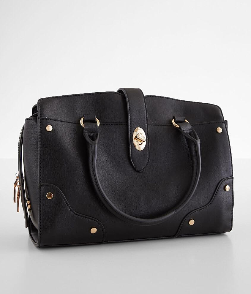 Urban Expressions Cleo Satchel Purse front view