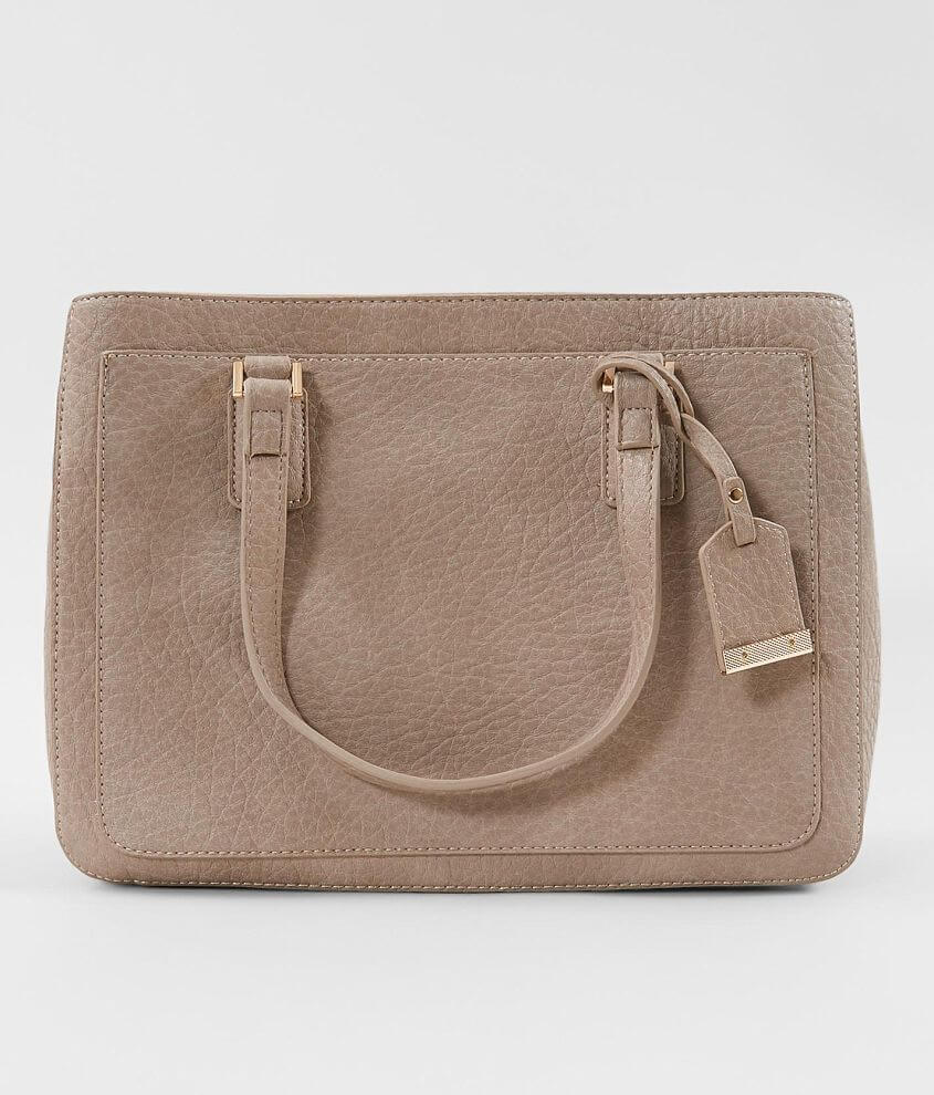 Urban Expressions Vegan Leather Structured Purse front view
