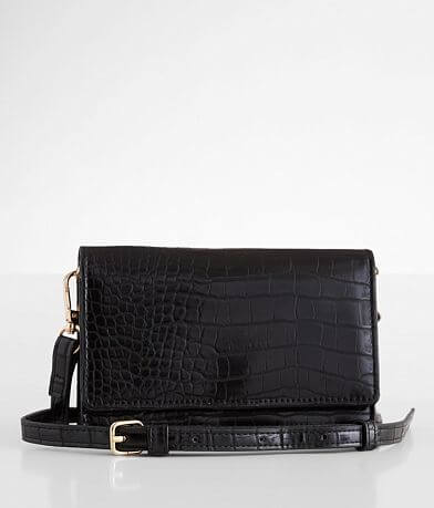 Urban Expressions Emma Mini Croc Purse