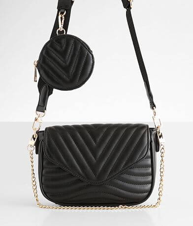 Urban Expressions Quilted Crossbody Purse