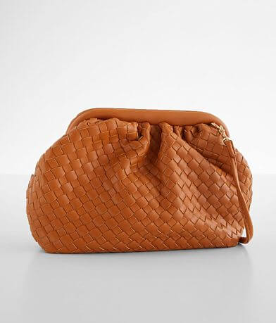 Urban Expressions Weaved Clutch