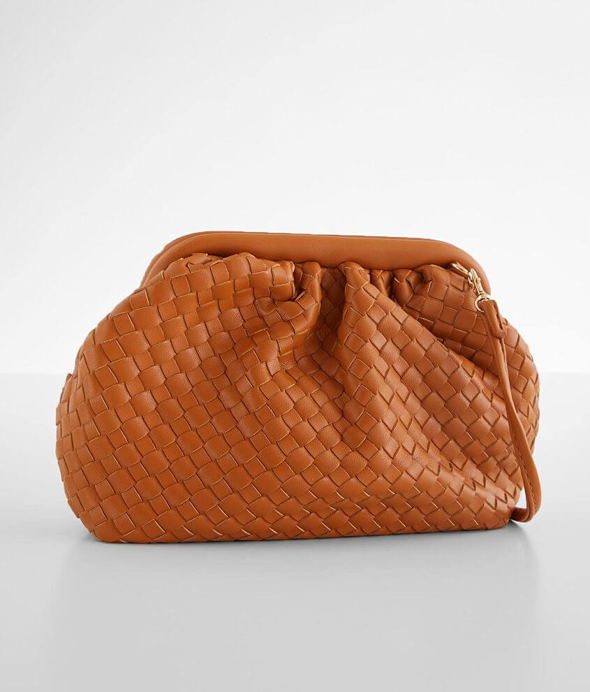 Urban Expressions Weaved Clutch front view