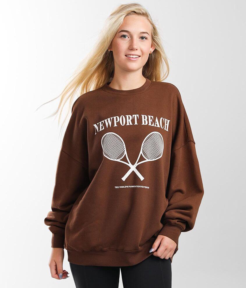 FITZ + EDDI Tennis Sweatshirt - One Size front view