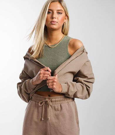 Gilded Intent Washed Lounge Hoodie