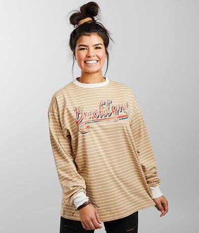FITZ + EDDI Striped T-Shirt - One Size