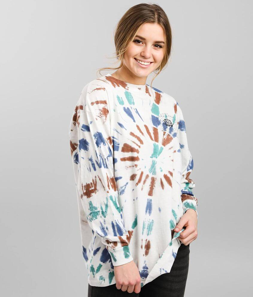 Urban Nation Rose Tour Oversized T-Shirt front view