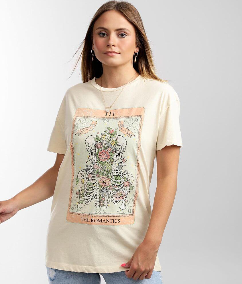 Modish Rebel The Romantics Skeleton T-Shirt front view