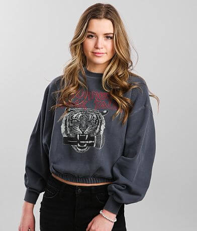 Gilded Intent Summer Rock Tour Cropped Pullover