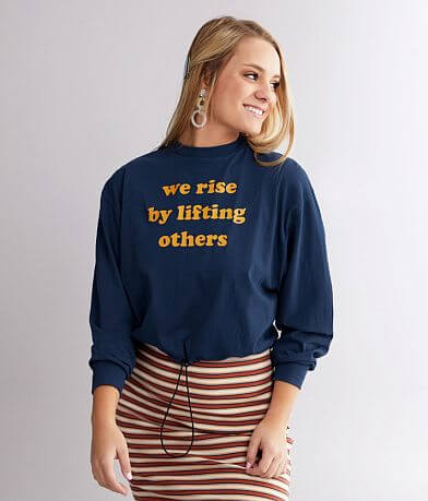 twine & stark We Rise By Lifting Others T-Shirt