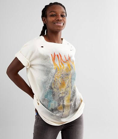 Gilded Intent Oversized King Tiger T-Shirt