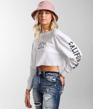 FITZ + EDDI Sports Club Cropped T-Shirt