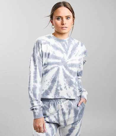 Gilded Intent Washed Tie Dye Pullover