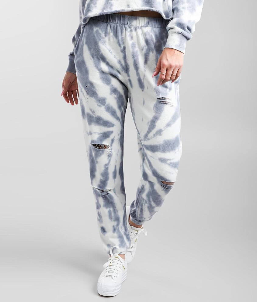Gilded Intent Washed Tie Dye Jogger front view