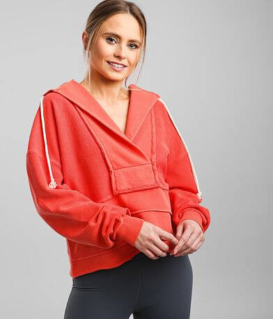 BKE core Reverse Pieced French Terry Active Hoodie