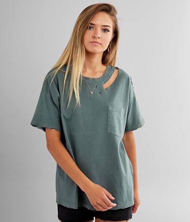 Gilded Intent Destructed Pocket T-Shirt