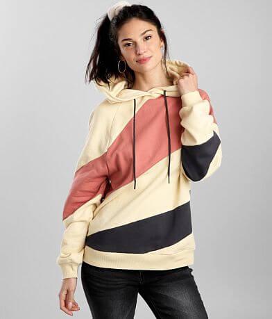 BKE Color Block Hooded Sweatshirt