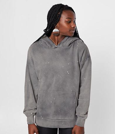 Gilded Intent Paint Splatter Hooded Sweatshirt