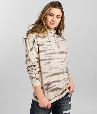 Gilded Intent Tie Dye Hooded Sweatshirt