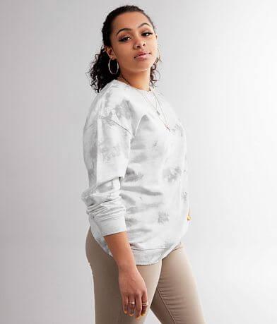 Gilded Intent Tie Dye Pullover Sweatshirt