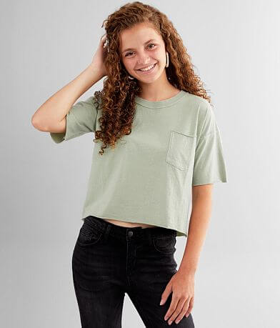 FITZ + EDDI Cropped Dad Fit T-Shirt
