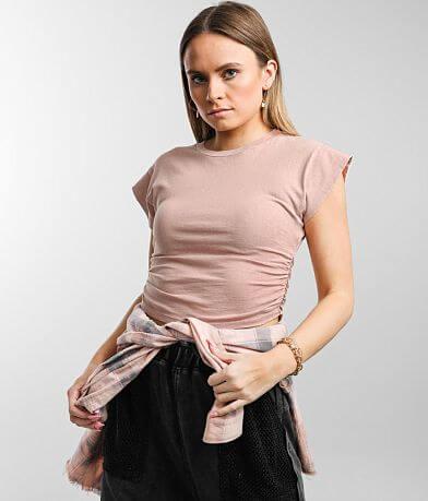 Gilded Intent Cap Sleeve T-Shirt
