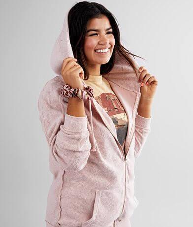 FITZ + EDDI Oversized Reverse Fleece Hoodie