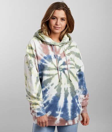 Gilded Intent Tie Dye Hooded Sweatshirt