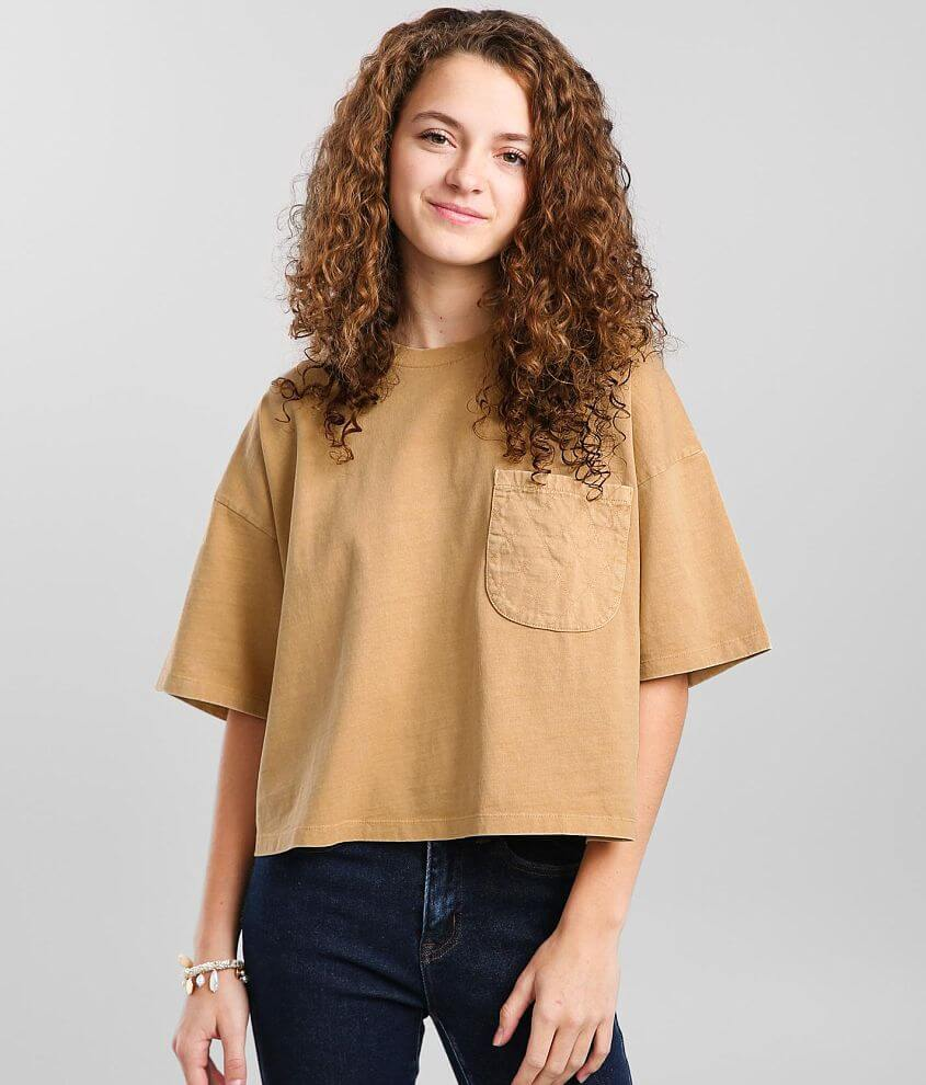 Gilded Intent Washed Pocket T-Shirt front view