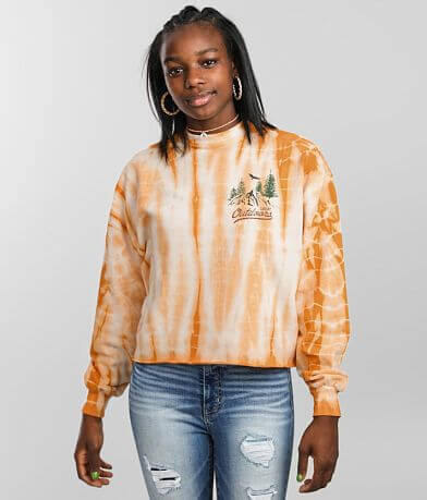 Urban Nation Great Outdoors Cropped Pullover