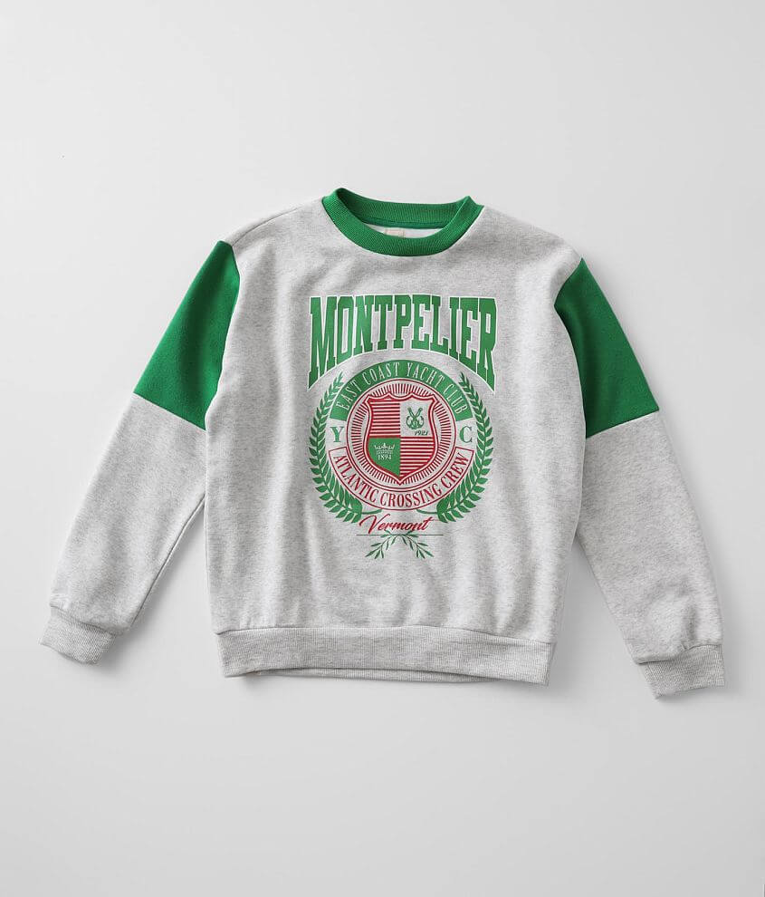 Girls - Modish Rebel Montpelier Oversized Pullover front view